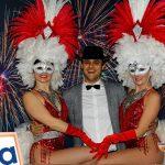 Masquerade themed showgirls 10