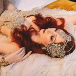 Vintage burlesque performer for hire