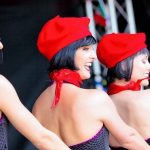 Can Can Parisian Themed Dancers La Vie Bleu 01